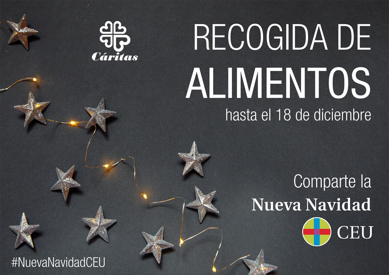 RECOGIDA DE ALIMENTOS #NuevaNavidadCEU
