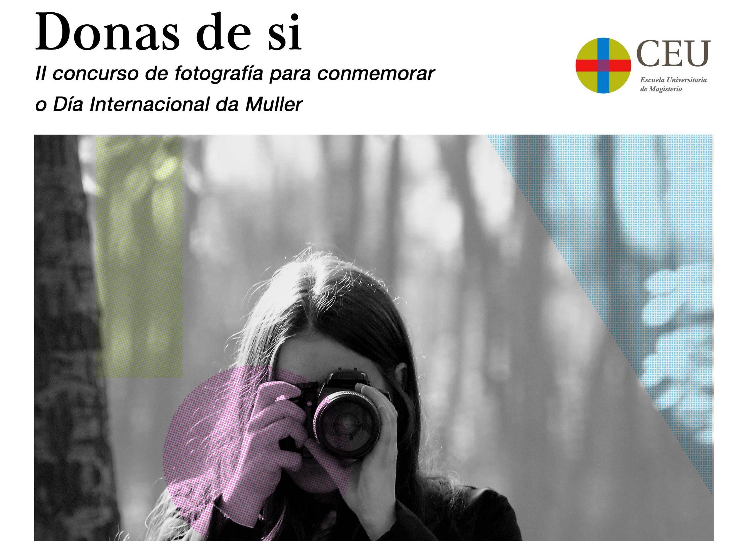 O II concurso fotográfico «Donas de sí» xa ten gañadores