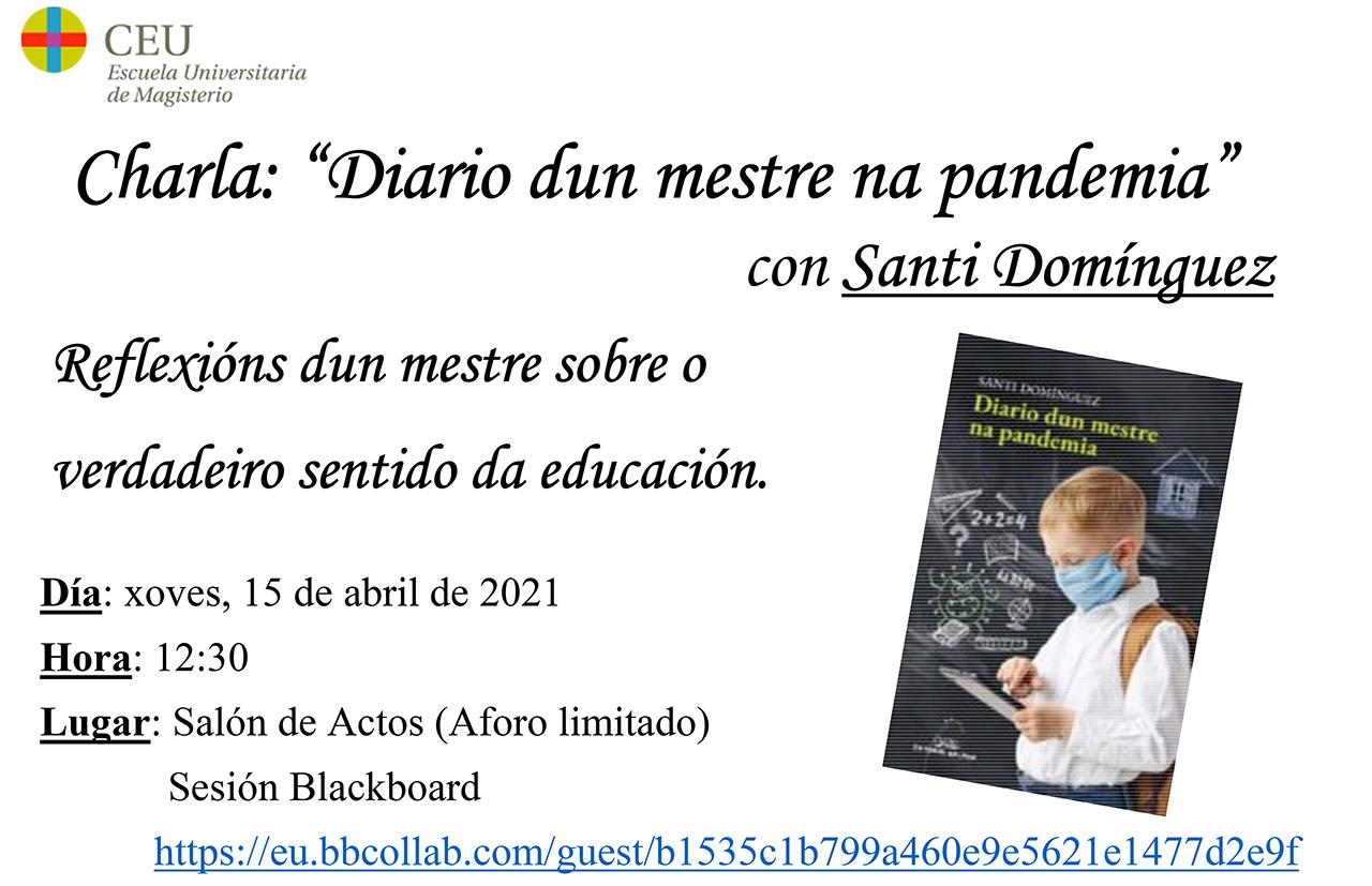 Diario dun mestre na pandemia