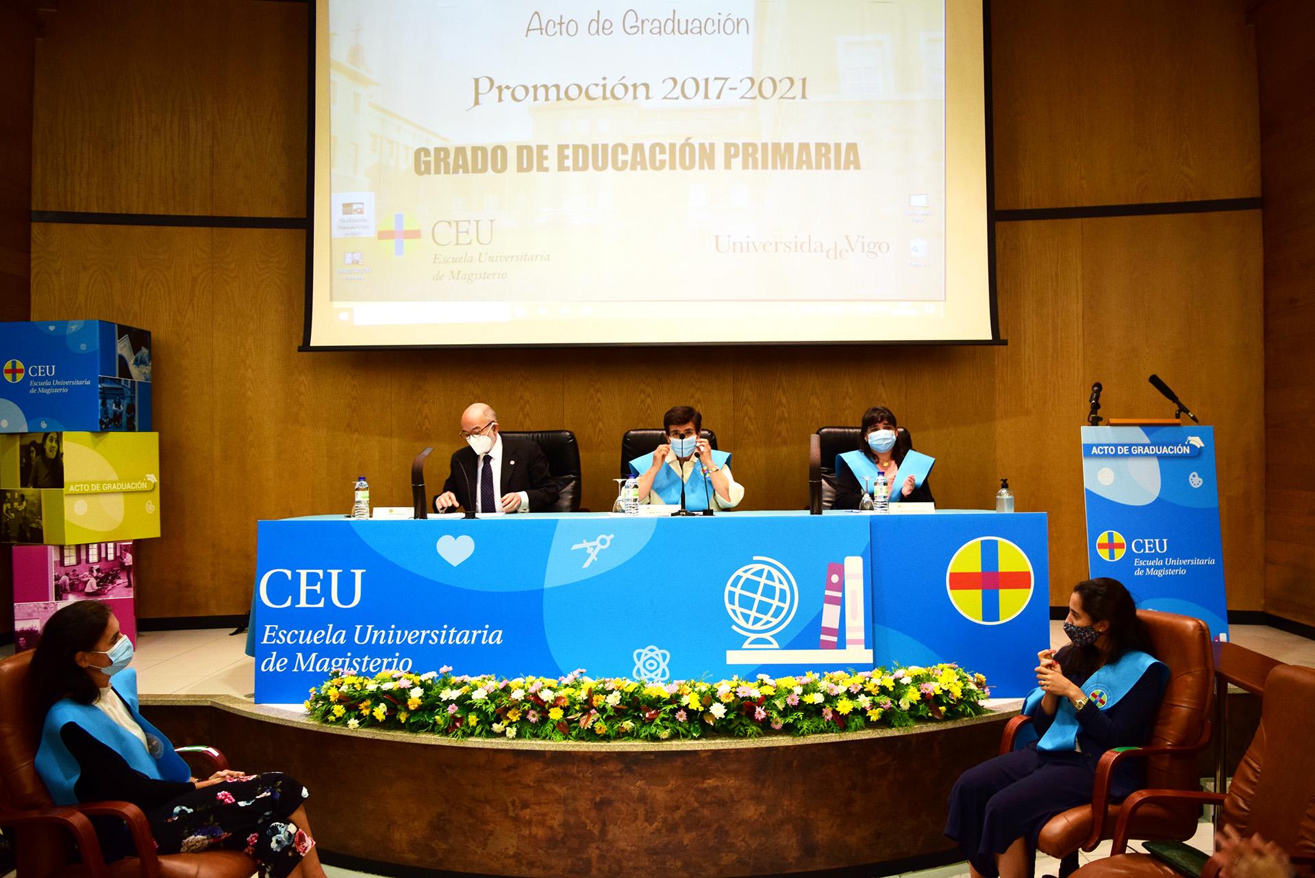 Graduación de la Promoción 2017-2021 del Grado de Educación Primaria